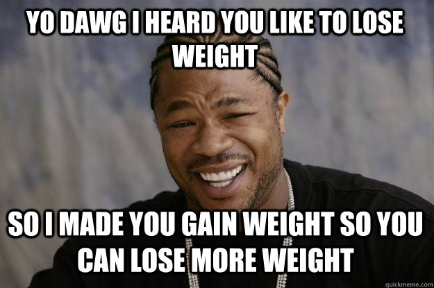 Can't Lose Weight Meme