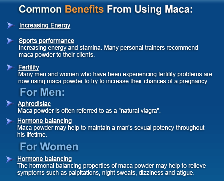 Maca Powder Benefits