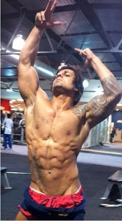 Zyzz Workout Routine and Diet Review - U Mirin Brah?