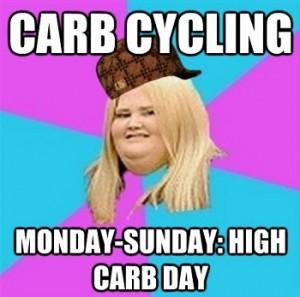 Carb Cycling Meme