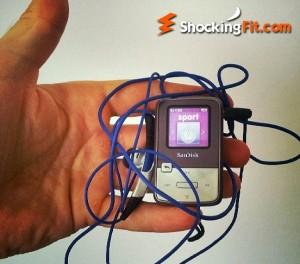 Sansa Clip Zip Gym MP3 Player G