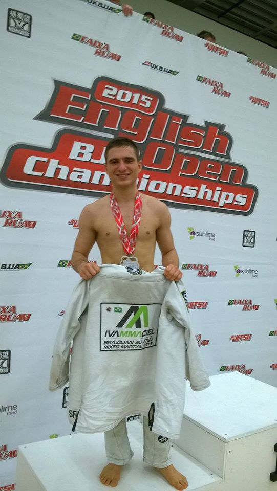Livio Wins Silver Medal English Open BJJ Championships